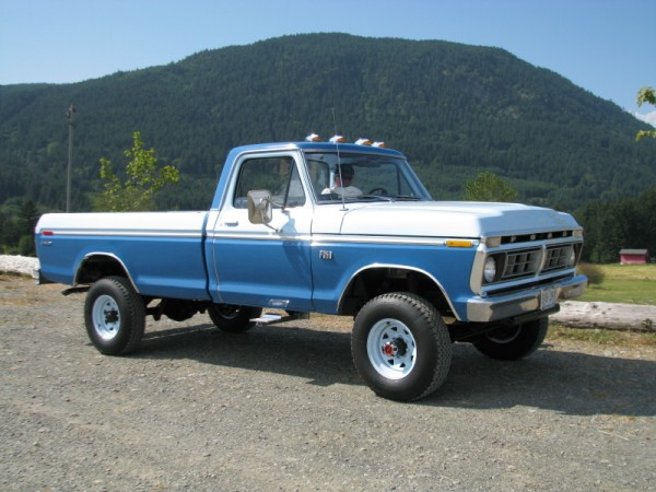 1976 Ford F250 | ATHS Vancouver Island Chapter