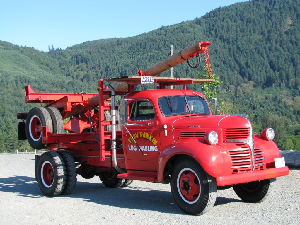 1942 Dodge Logger | ATHS Vancouver Island Chapter